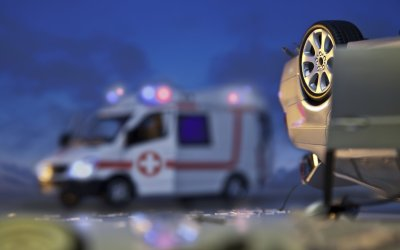 What should I do if I'm in a car accident?