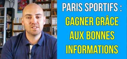 infos paris sportifs