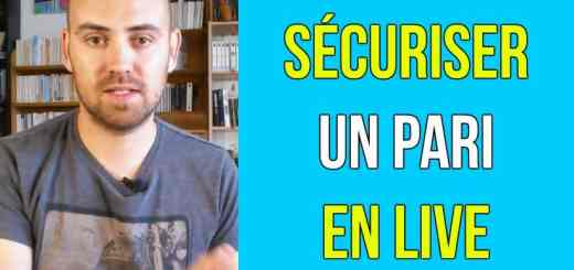 securiser un pari en direct