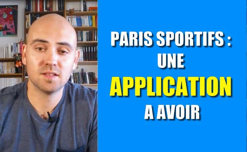 Une application pour tes paris foot