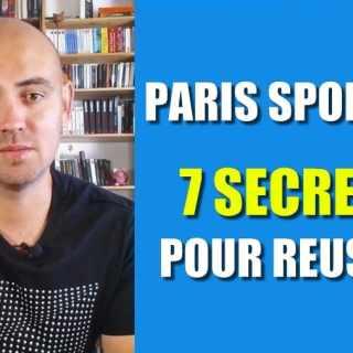 SECRETS PARIS SPORTIFS