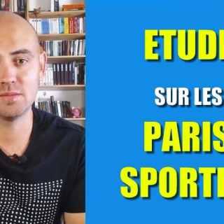 etude reportage paris sportifs
