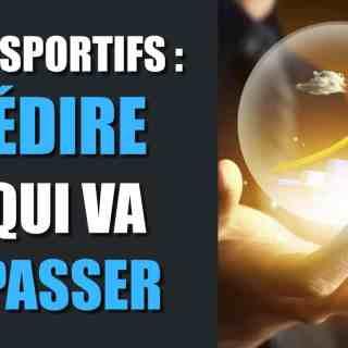 Paris sportifs Prédire ce qui va se passer