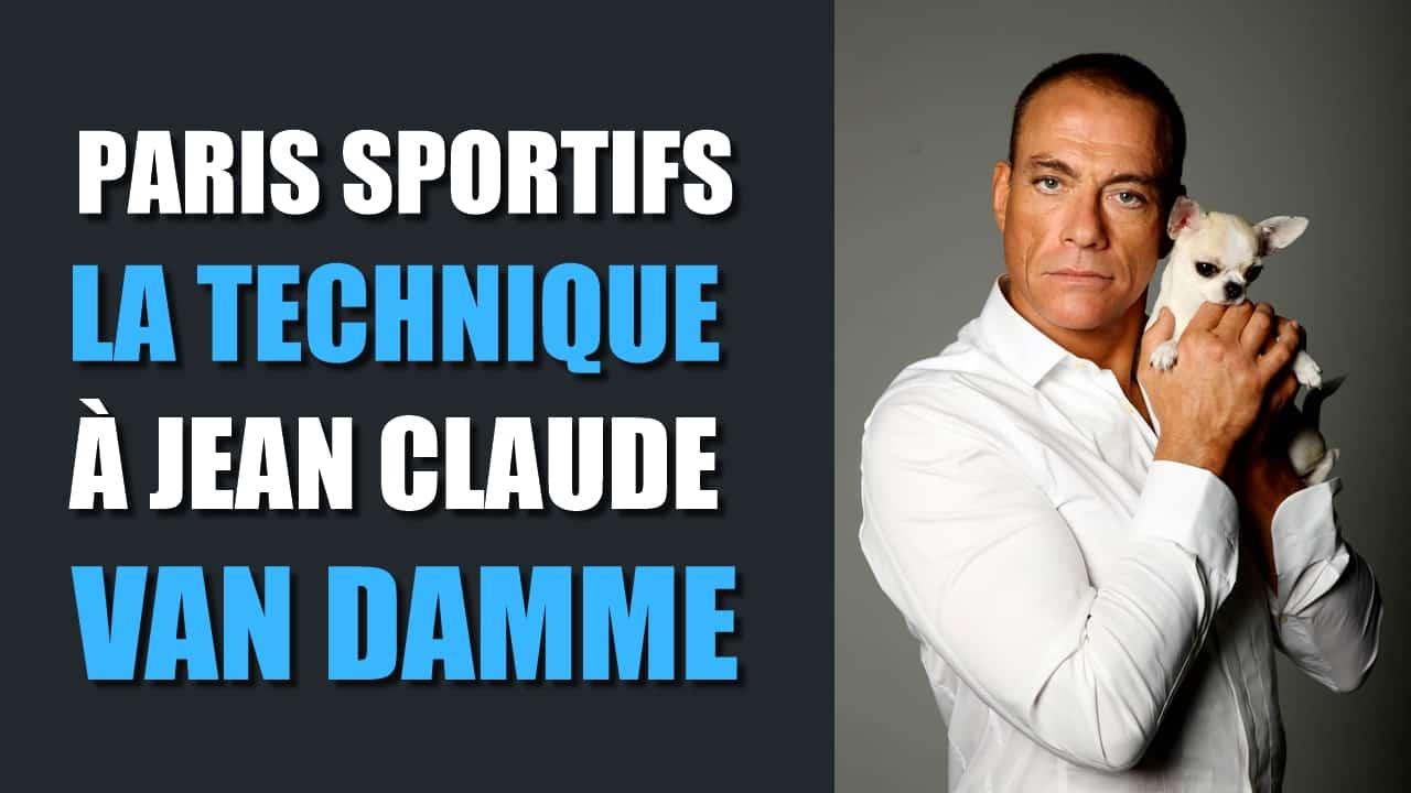 La technique à Jean Claude Van Damme