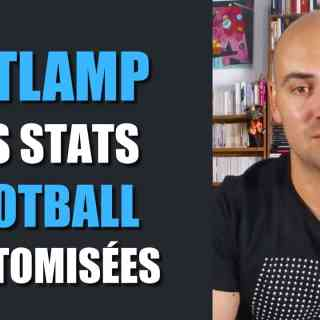 Betlamp des stats football customisées