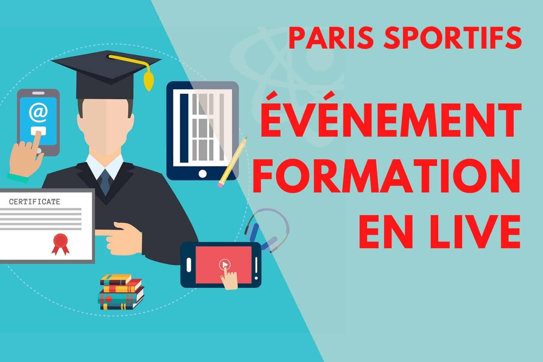 Paris sportifs formation en LIVE