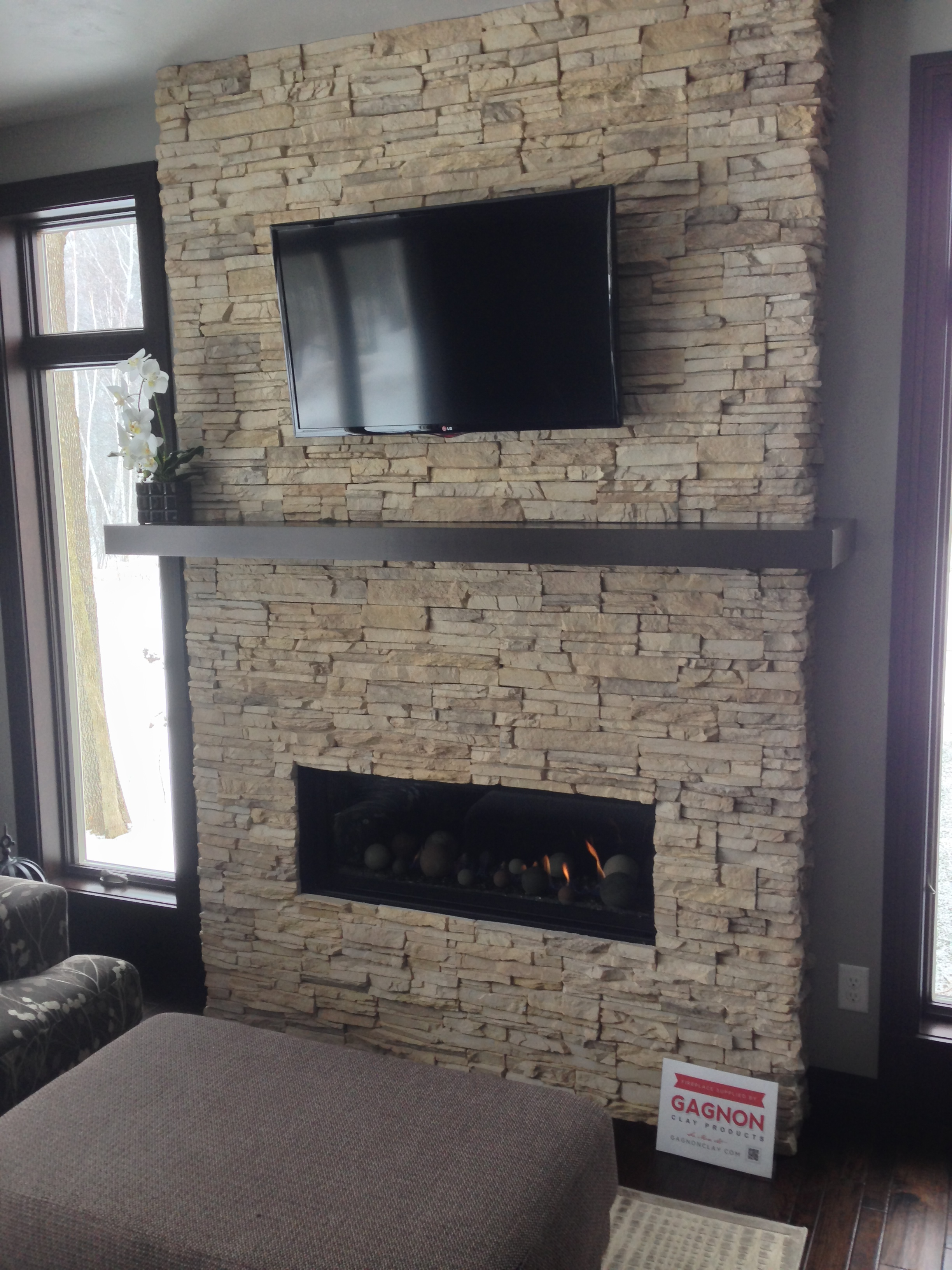 Marquis Skyline II with Dry Creek Stacked Stone  Gagnon Clay Products