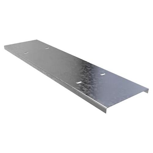 غطاء مجري كابلات لينز صاج مجلفن 30×1.5 سم
