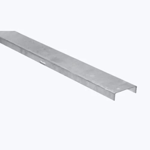 غطاء مجري كابلات لينز صاج مجلفن 5×1.5 سم