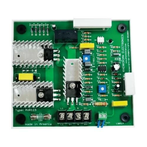 Automatic Voltage Regulator - AVR 115 - 15A