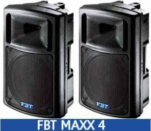 casse fbt maxx 4a 400w