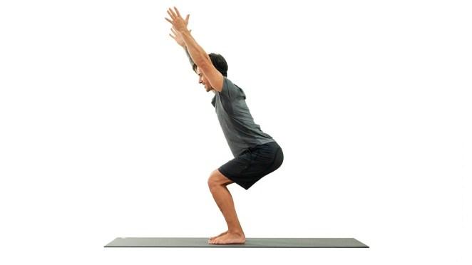Utkatasana Yoga: Chair Pose | Yoga Pose | Gaia