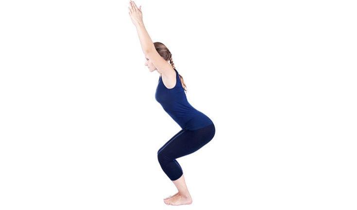 yoga chair pose swivel dubai utkatasana picture of