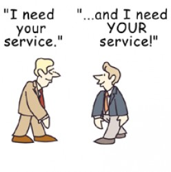 Potreba za uslugom  - moneymystery.hubpages.com