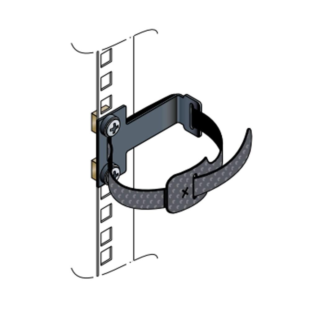 Schneider-Electric Anneau de bridage vertical 1U