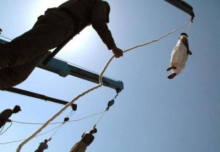 Iran Pena di Morte Gru