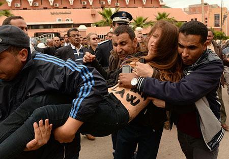 Femen Marocco Beni Mellal