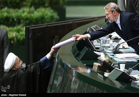 Rouhani 01 in Majis