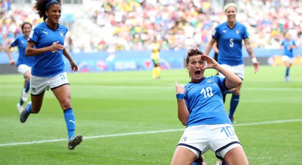 #France2019 Goleada italiana sulla Giamaica: 5-0. Brave ragazze!