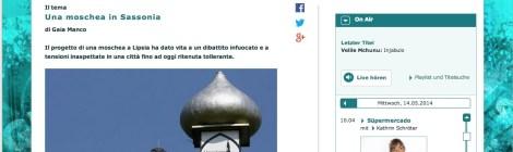 Una moschea in Sassonia - Radio report for Radio Colonia, Funkhaus Europa, WDR