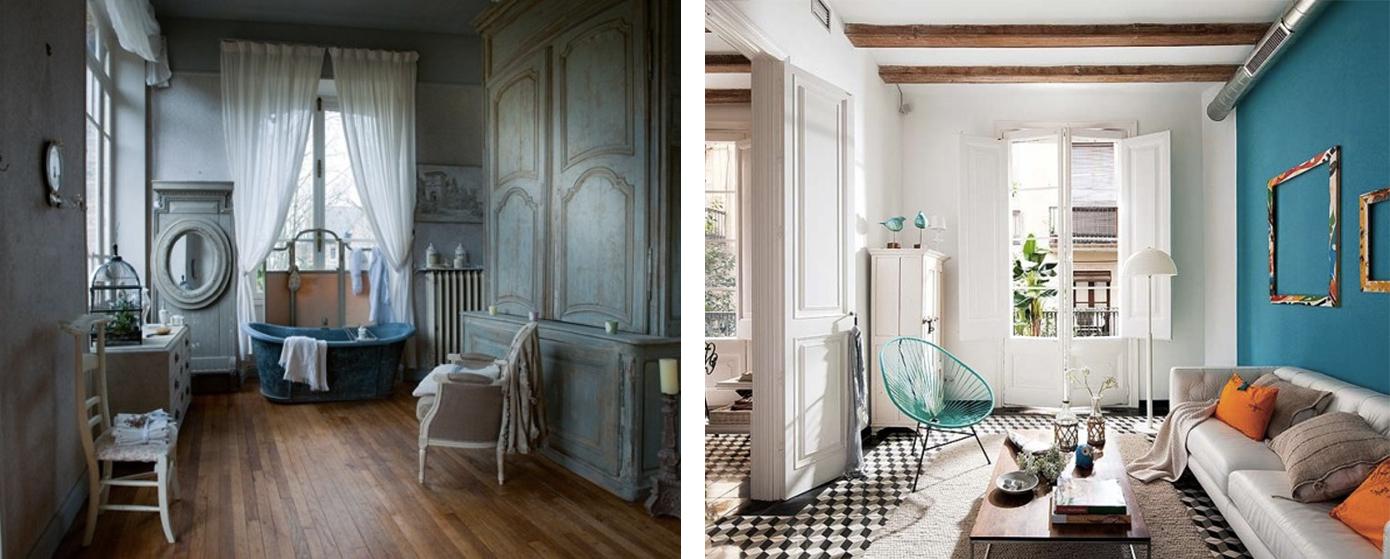 Arredamento stile classico moderno mix elegante for Mobili x casa