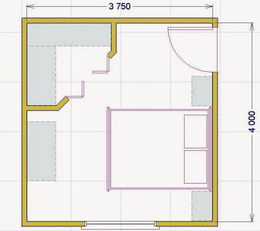 Progettare una cabina armadio: misure e dimensioni minime per il fai ...