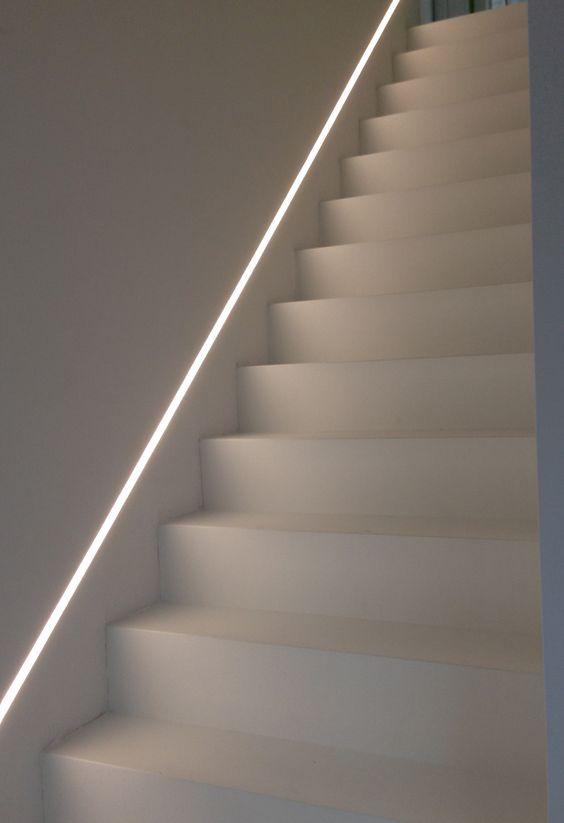 Illuminare la Scala con illuminazione gradini led