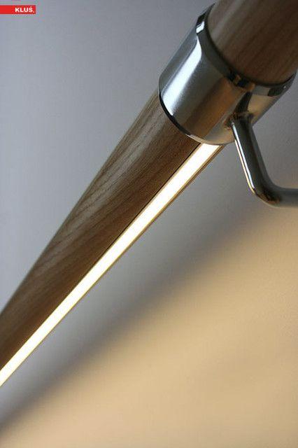Illuminare la scala led sotto corrimano