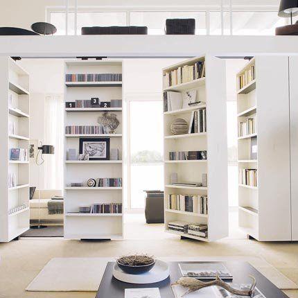 Come dividere una stanza in due con libreria