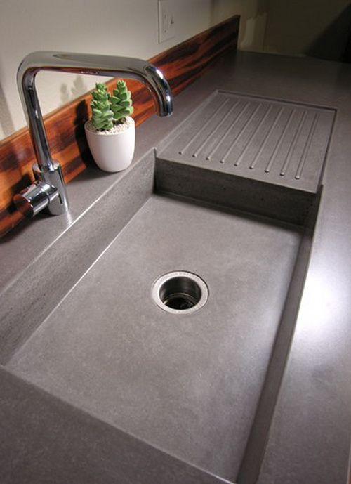 Come arredare una cucina moderna materiali lavello