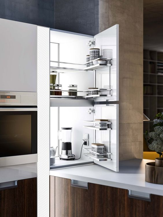 Come arredare una cucina moderna pensili