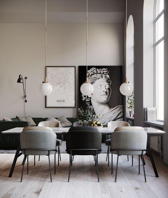 Modern design lampada da tavolo da pranzo sferica semplice lampada da soffitto. Lampade A Sospensione Per Il Tavolo Da Pranzo Consigli E Le Migliori Idee
