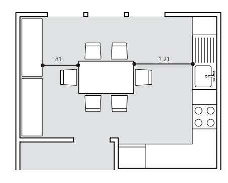 Dimensioni tavolo da pranzo per la cucina