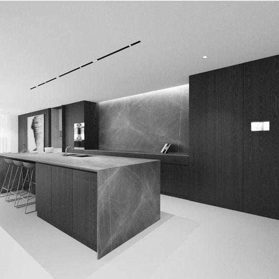 cucina top grigio