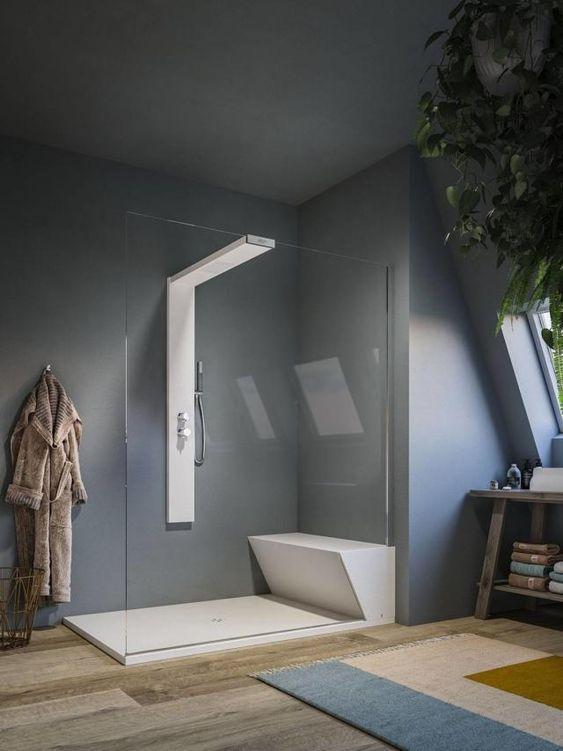come scegliere il box doccia walk-in