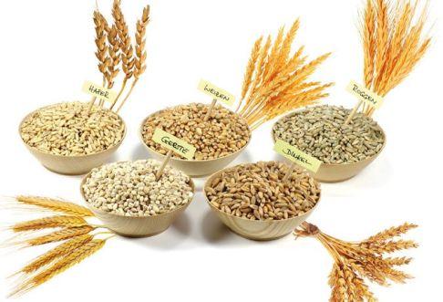 Getreideauswahl