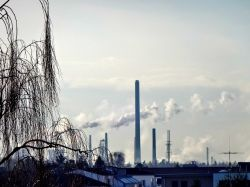 Shell Raffinerie in Köln-Godorf