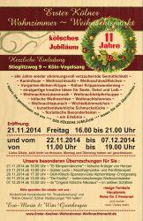 Kölner Wohnzimmer Weihnachtsmarkt 2014