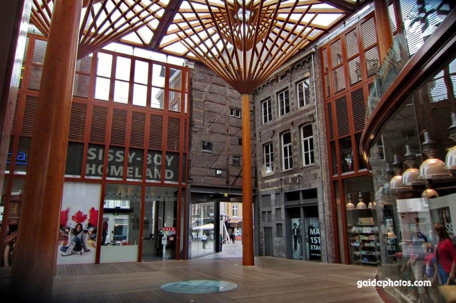 Maastricht, Shoppen, Einkaufen, Mosae Forum