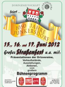 1050 Jahre Junkersdorf - Straßenfest 15.-17.06.2012