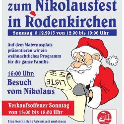 Nikolausfest 2013 in Köln-Rodenkirchen