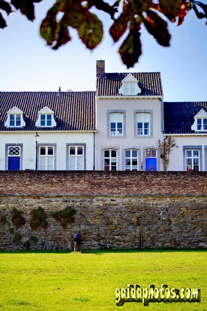 Stadtmauier Maastricht Niederlande