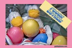 Osterkarte-Ostereier