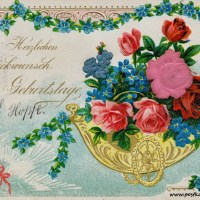 21 wunderschöne alte Geburtstagskarten