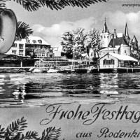 Weihnachtskarten von 1889 bis 1950