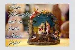 last minute Weihnachts- und Neujahrskarte