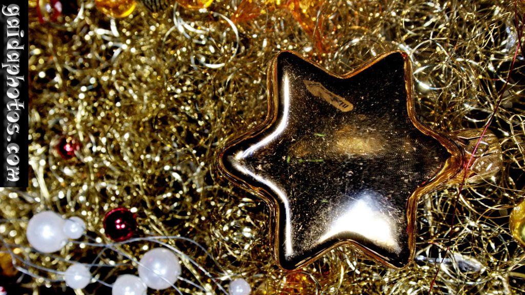 16:9 Desktop Hintergrund Weihnachten Stern