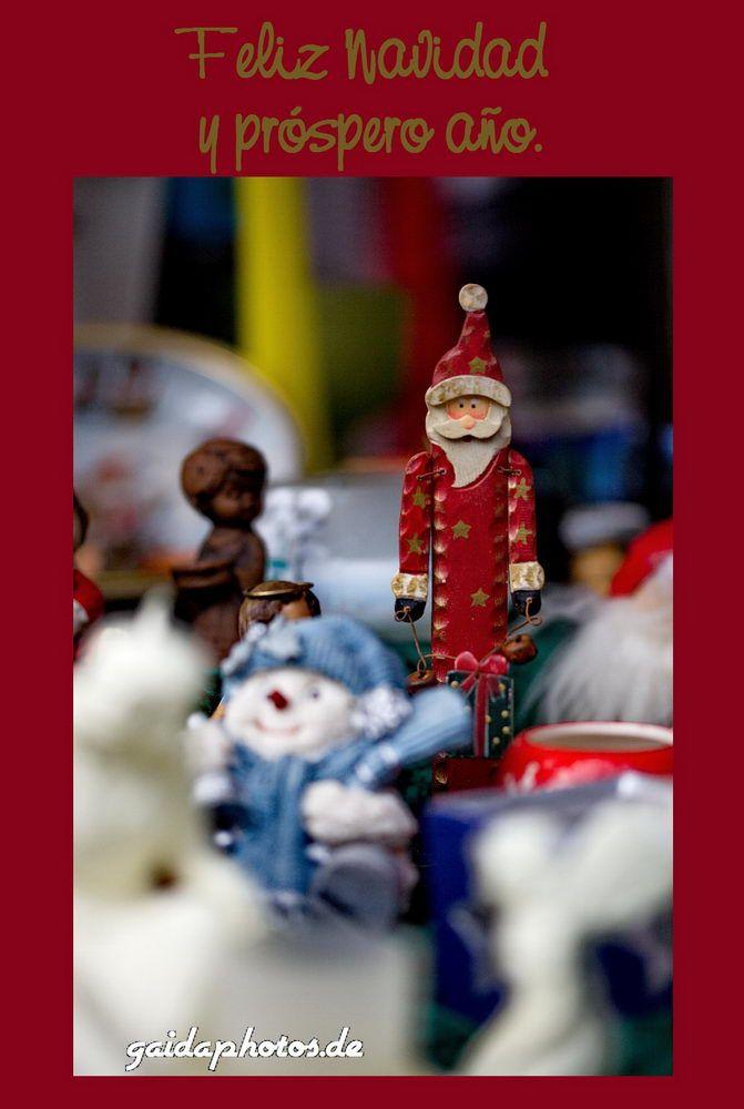 Spanische Weihnachtsgrüße - gaidaphotos Fotos und Bilder