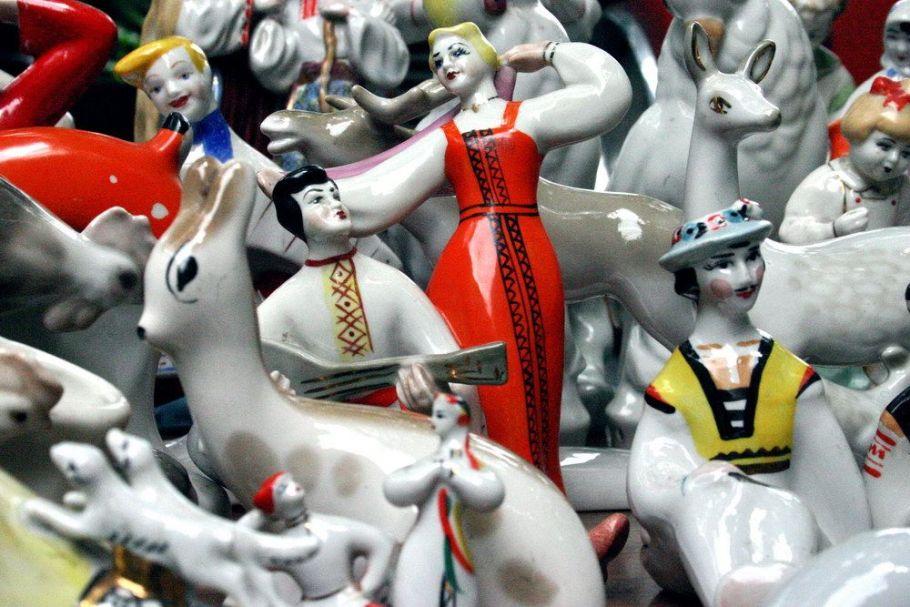 Porzellanfiguren Paar mit Mandoline