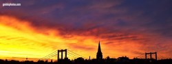Facebook Titelbild Sonnenuntergang
